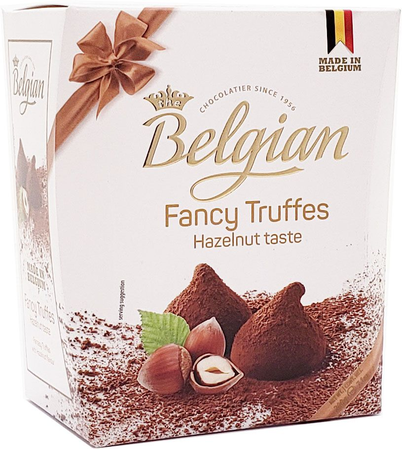 Trufa Belga Fancy Hazelnut Pieces The Belgian - 200g -