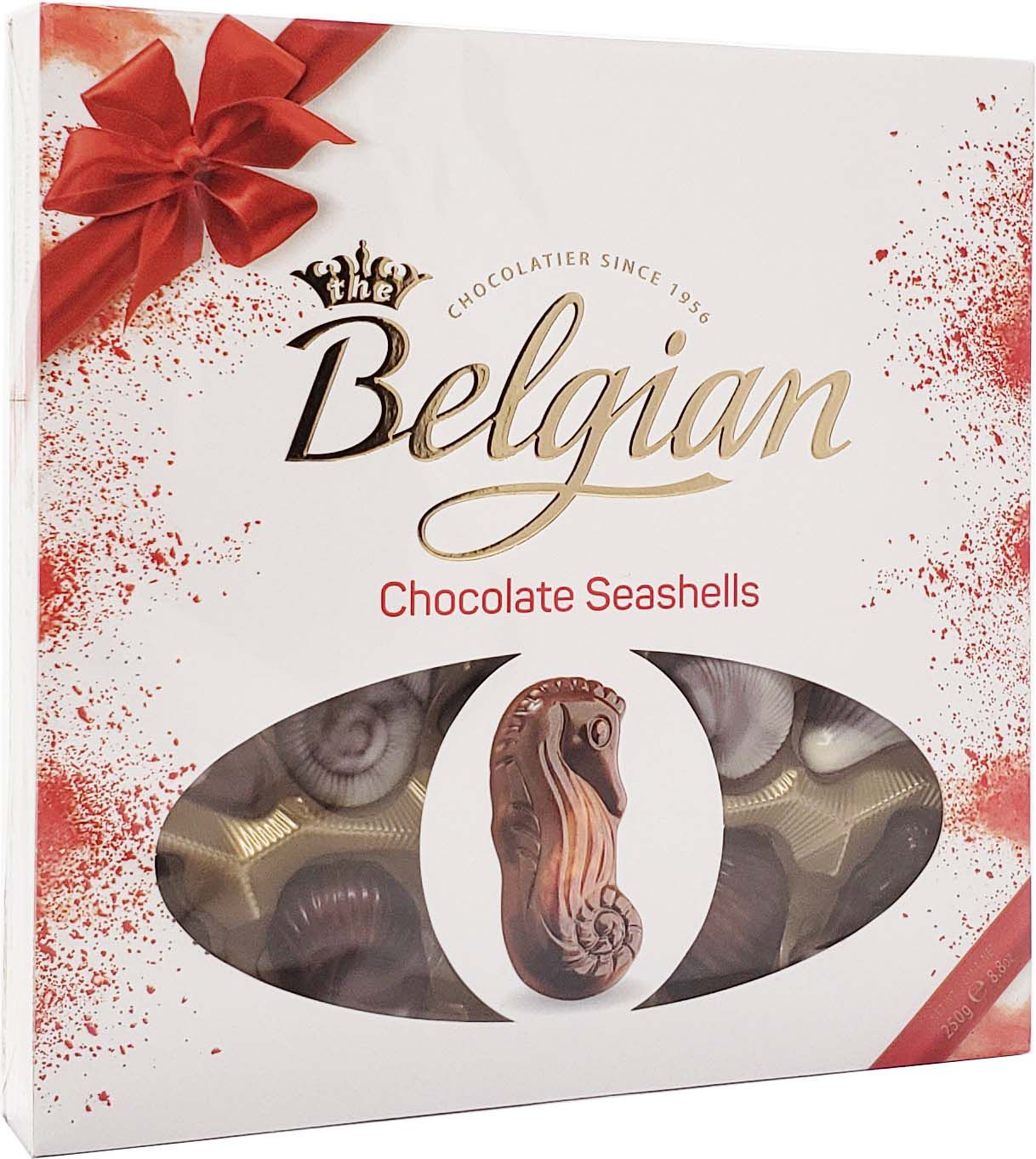 Caixa de Chocolate Belgian Conchas do Mar - 250g -