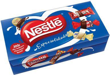 Caixa de Chocolates Nestlé Especialidades - 300g -