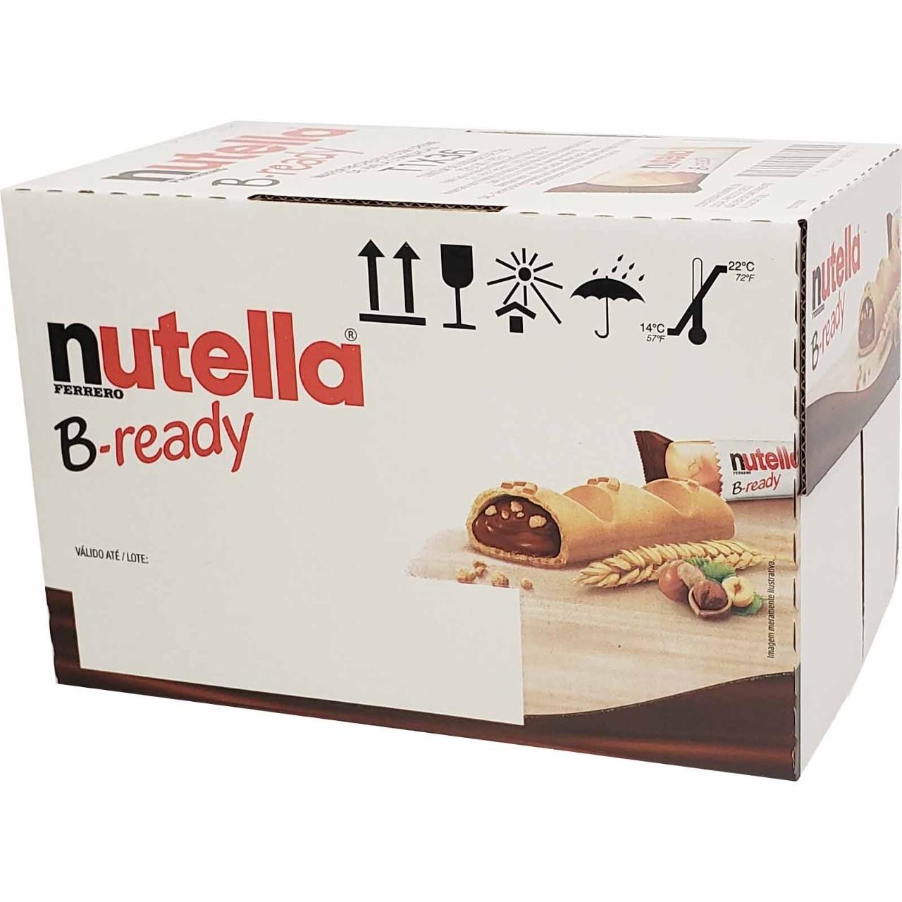 Biscoito wafer creme Nutella B-ready (36unx22g)