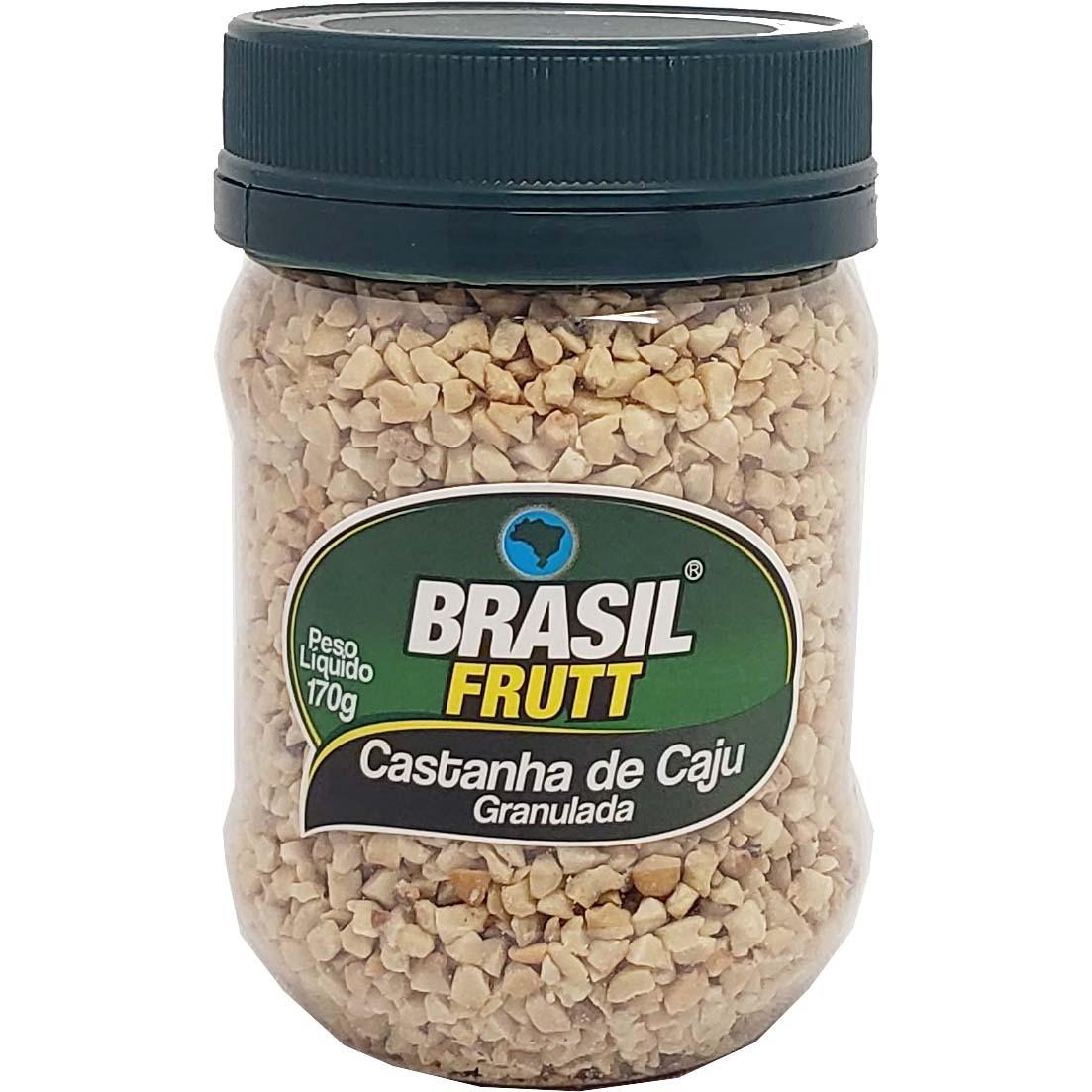 Castanha de caju Granulada Brasil Frutt - 170g -