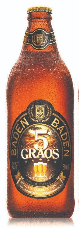 Cerveja Baden Baden 5 Grãos  - 600ml -