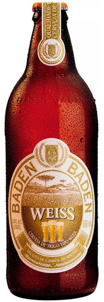 Cerveja Baden Baden Weiss  - 600ml -