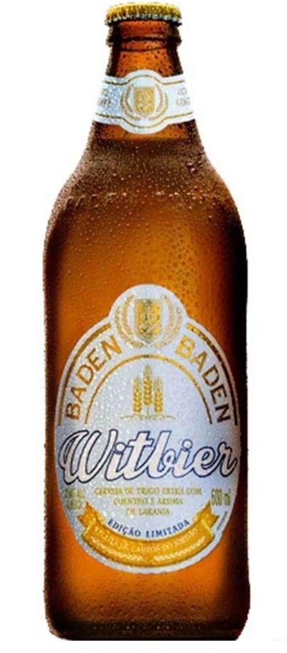 Cerveja Baden Baden Witbier - 600ml -