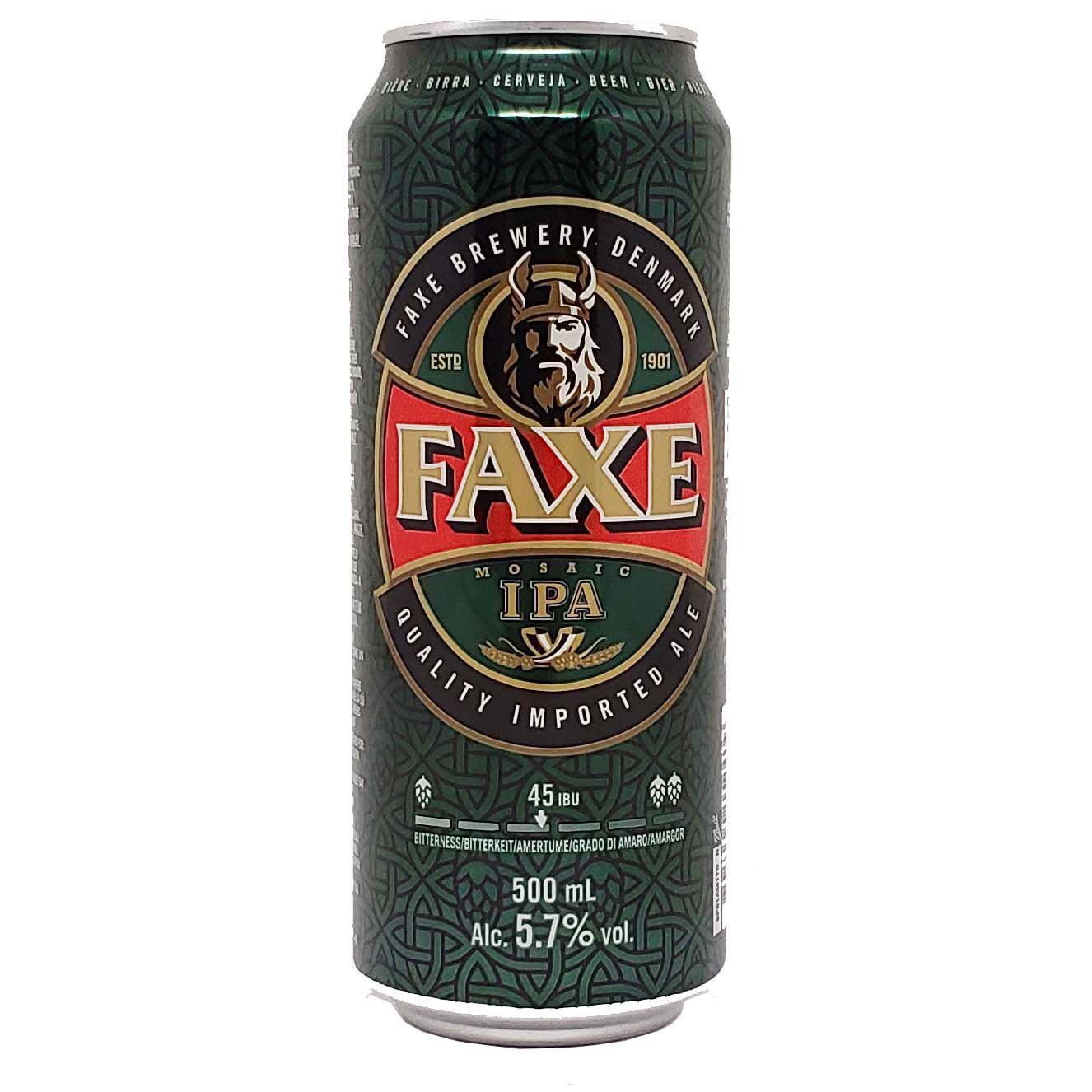 Cerveja Faxe IPA - 500ml -