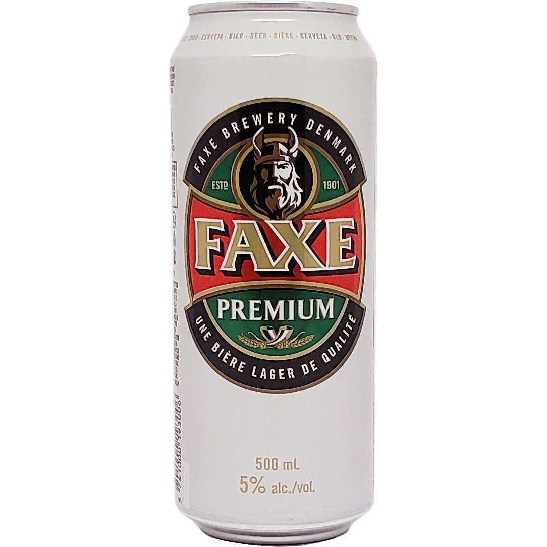 Cerveja Faxe Premium - 500ml -