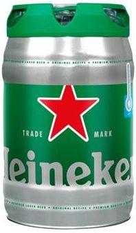 Cerveja Heineken Lager Premium - 5L -