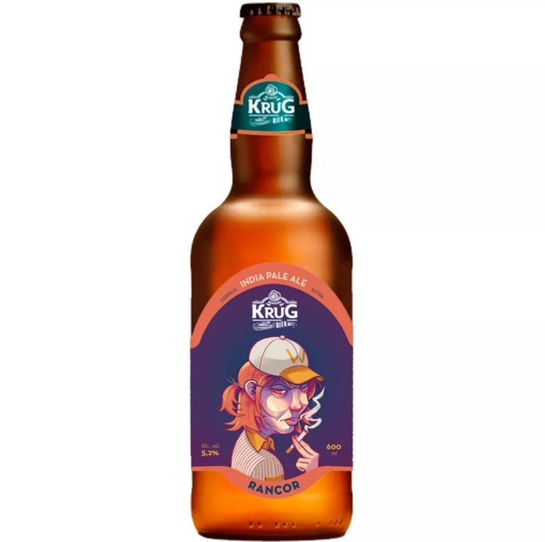 Cerveja Krug Bier Rancor India Pale Ale - 500ml -
