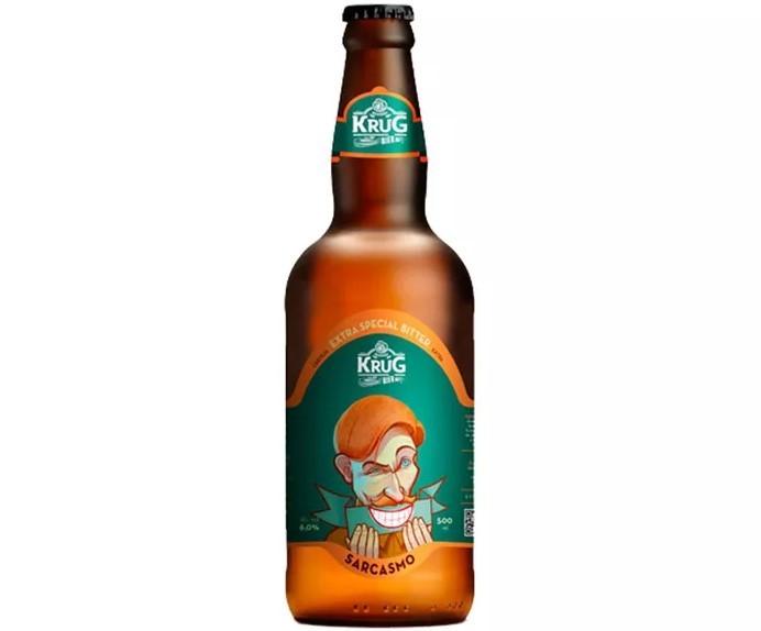 Cerveja Krug Bier Sarcasmo Extra Special Bitter - 500ml -