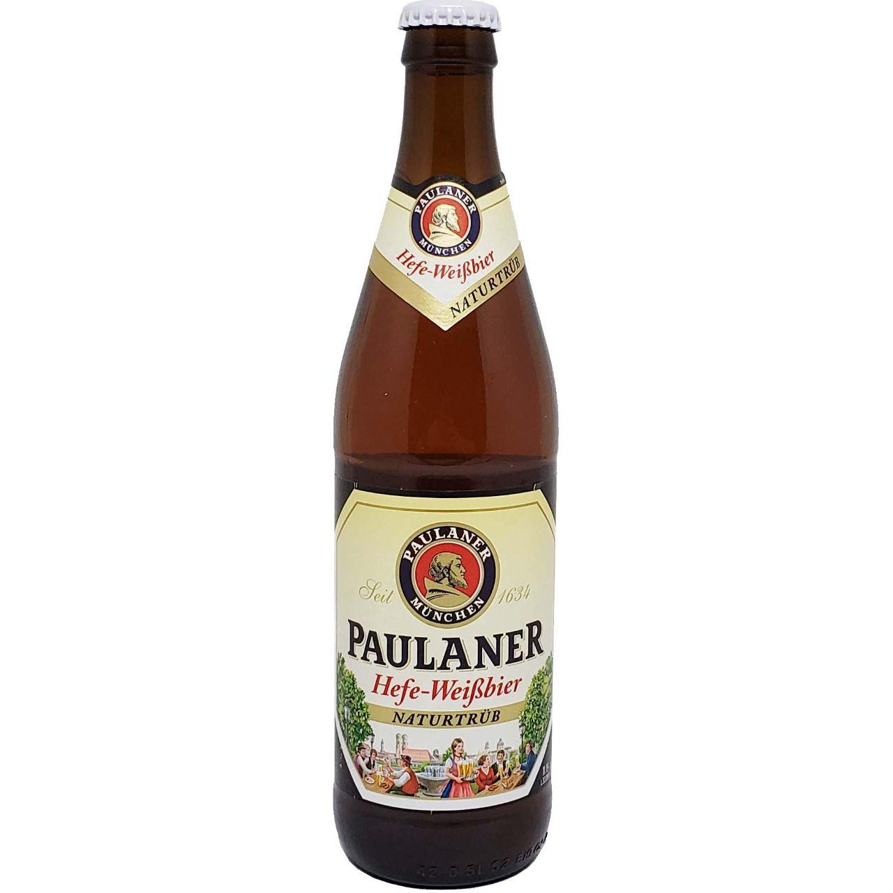 Cerveja Paulaner Hefe- WeiBbier NaturTrüb - 500ml -