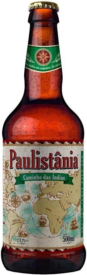 Cerveja Paulistânia Caminho das Índias - 500ml -
