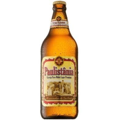 Cerveja Paulistania Puro Malte - 600ml -