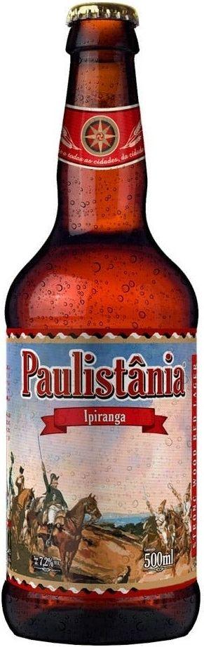Cerveja Paulistânia Ipiranga - 500ml -