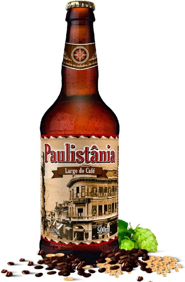 Cerveja Paulistânia Largo do Café - 500ml -