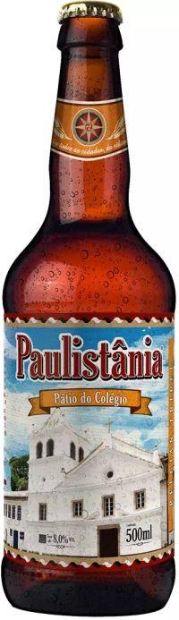 Cerveja Paulistânia Pátio do Colégio - 500ml -