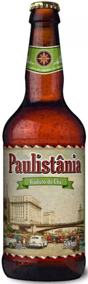 Cerveja Paulistânia Viaduto do Chá - 500ml -