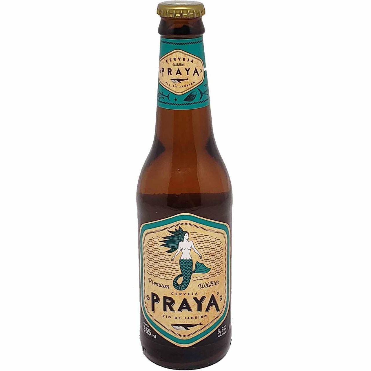 Cerveja Praya Premium Witbier Rio de Janeiro - 355ml -