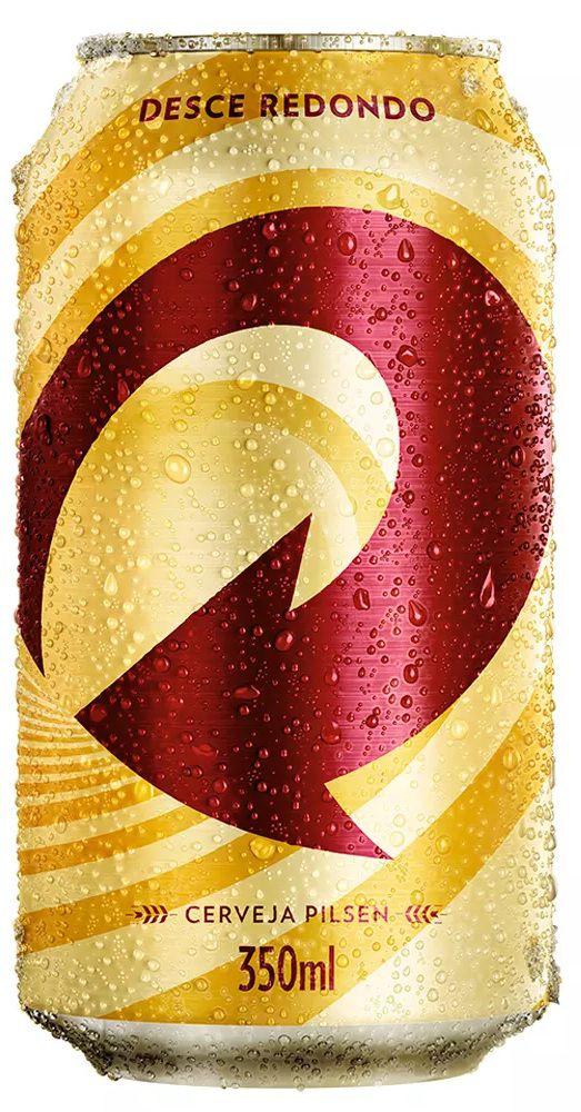 Cerveja Skol Lata - 350ml -