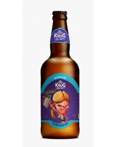 Cerveja Krug Bier Submissão Session Ipa Sem Glúten - 500ml -