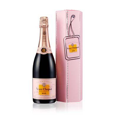 Champagne Rosé Veuve Clicquot Couture Box - 750ml -