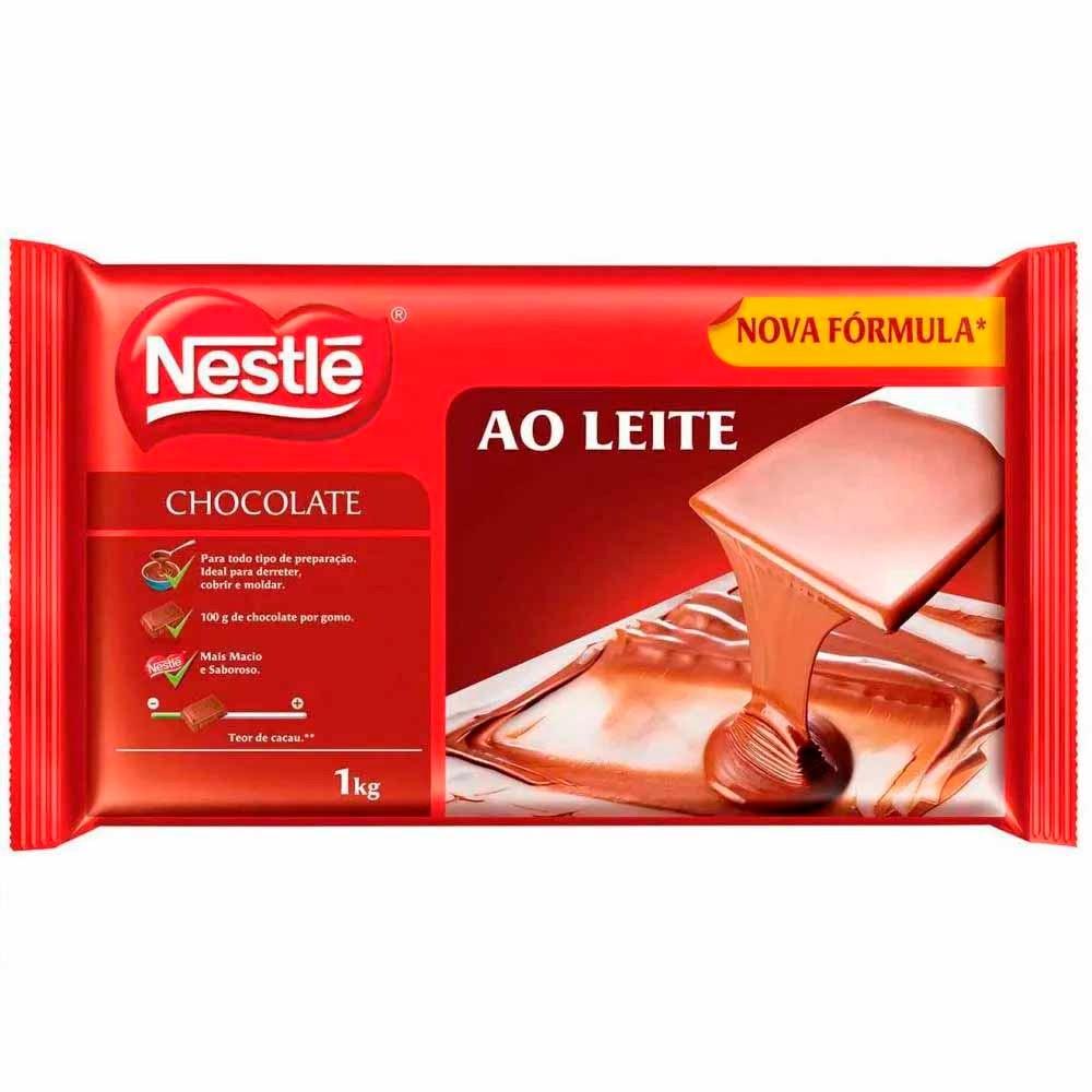 Chocolate Ao Leite Nestlé - 1kg -