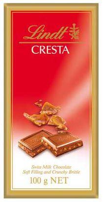 Chocolate Lindt Cresta - 100g -