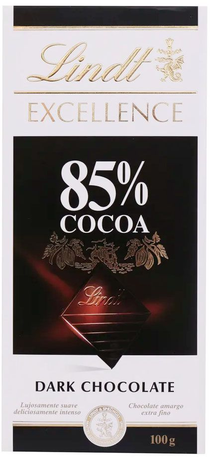 Chocolate Lindt Excellence 85% Cocoa - 100g -