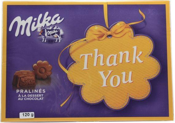 Chocolate Milka Thank You 120g
