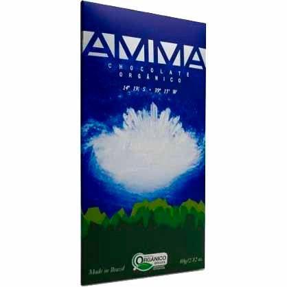 Chocolate Orgânico Flor do Mar 75% Amma - 80g -