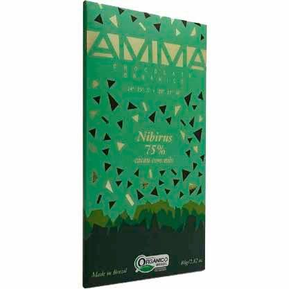 Chocolate Orgânico Nibirus 75% Amma - 80g -