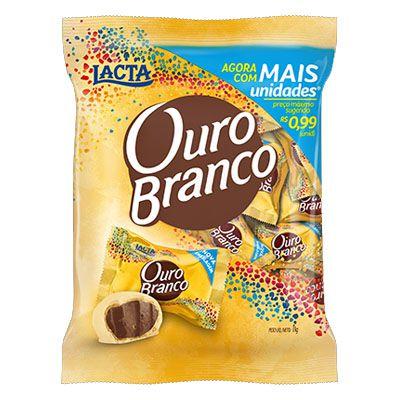 Chocolate Ouro Branco Lacta - 1kg -