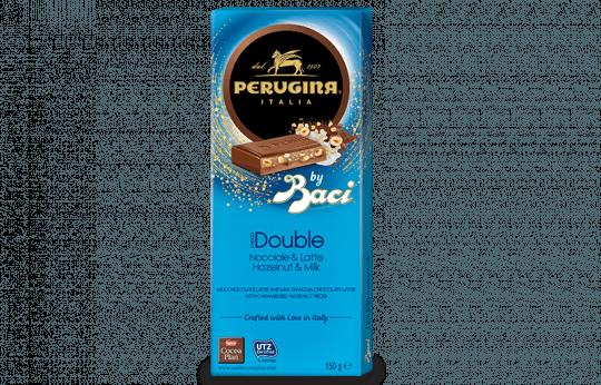 Chocolate Perugina Choco Double Ao Leite Com Avelã 150g