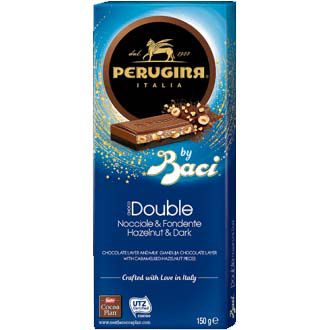 Chocolate Perugina Choco Double Dark Com Avelão - 150g -