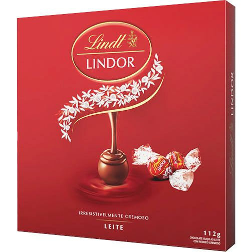 Chocolate Suíço Lindt Lindor Balls Milk  - 112g -