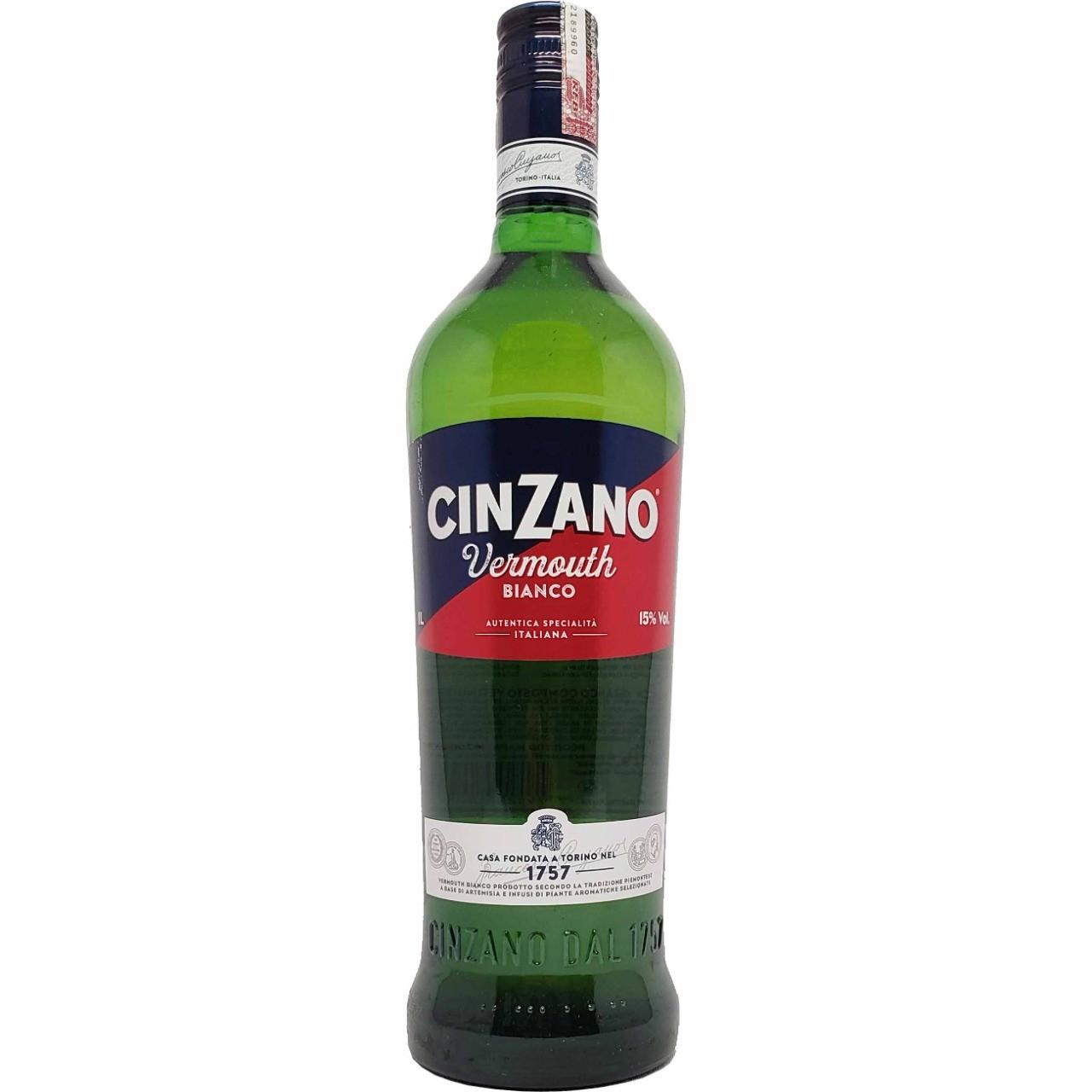 Cinzano Vermouth Bianco - 1L -