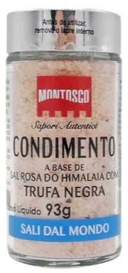 Condimento Sal Do Himalaia Montosco Com Trufa Negra - 93g -