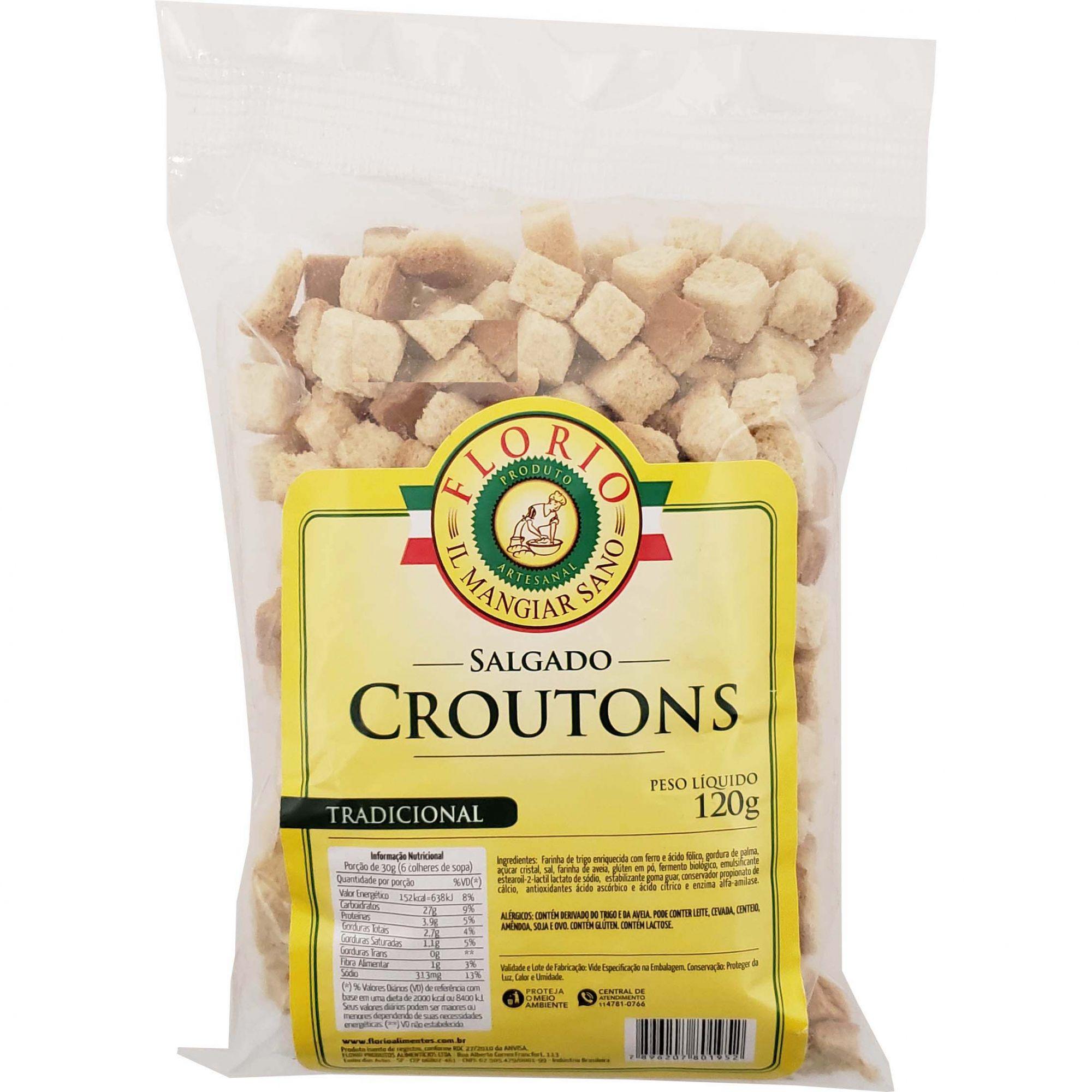 Croutons Tradicional Florio - 120g
