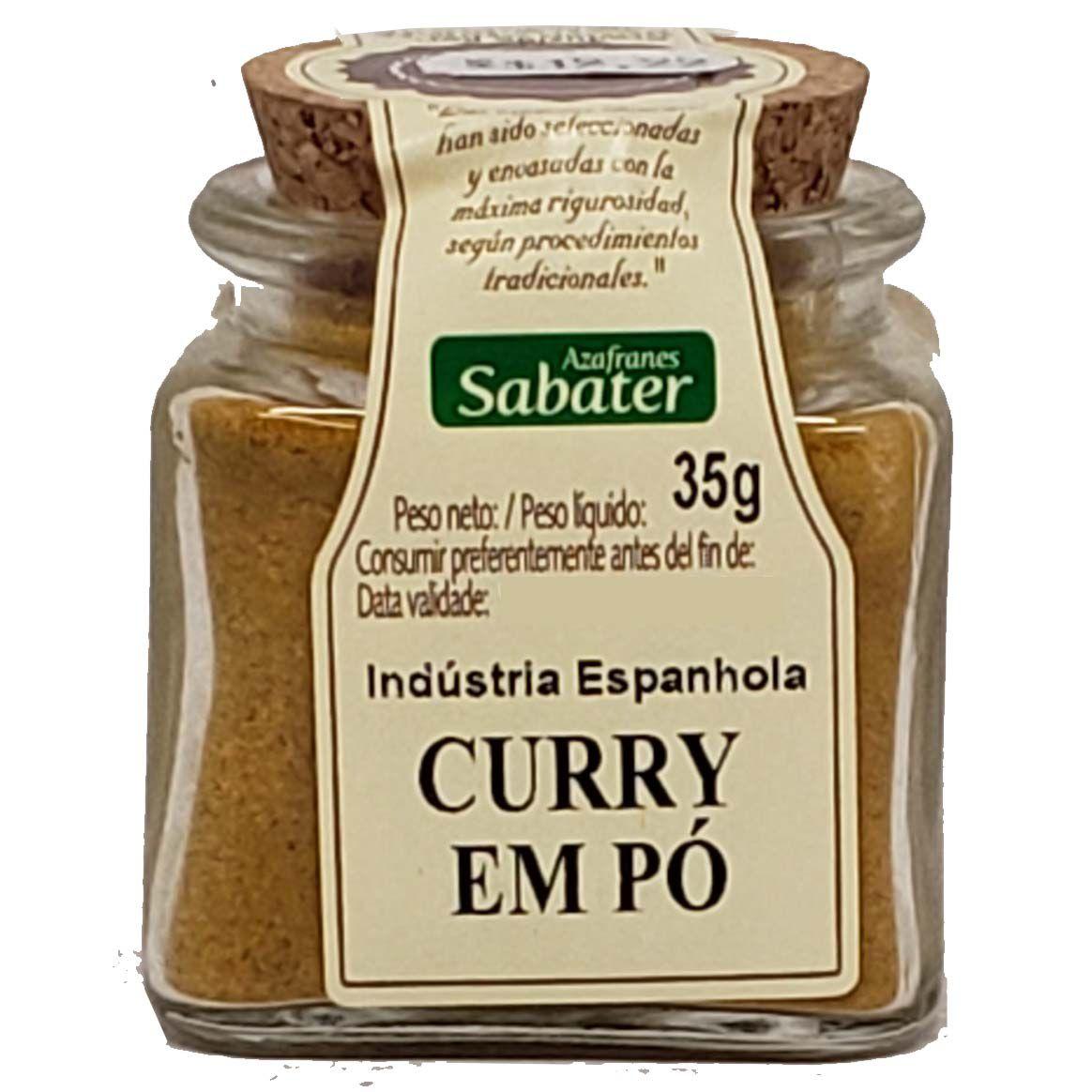 Curry Em Pó Azafranes Sabater - 35g -
