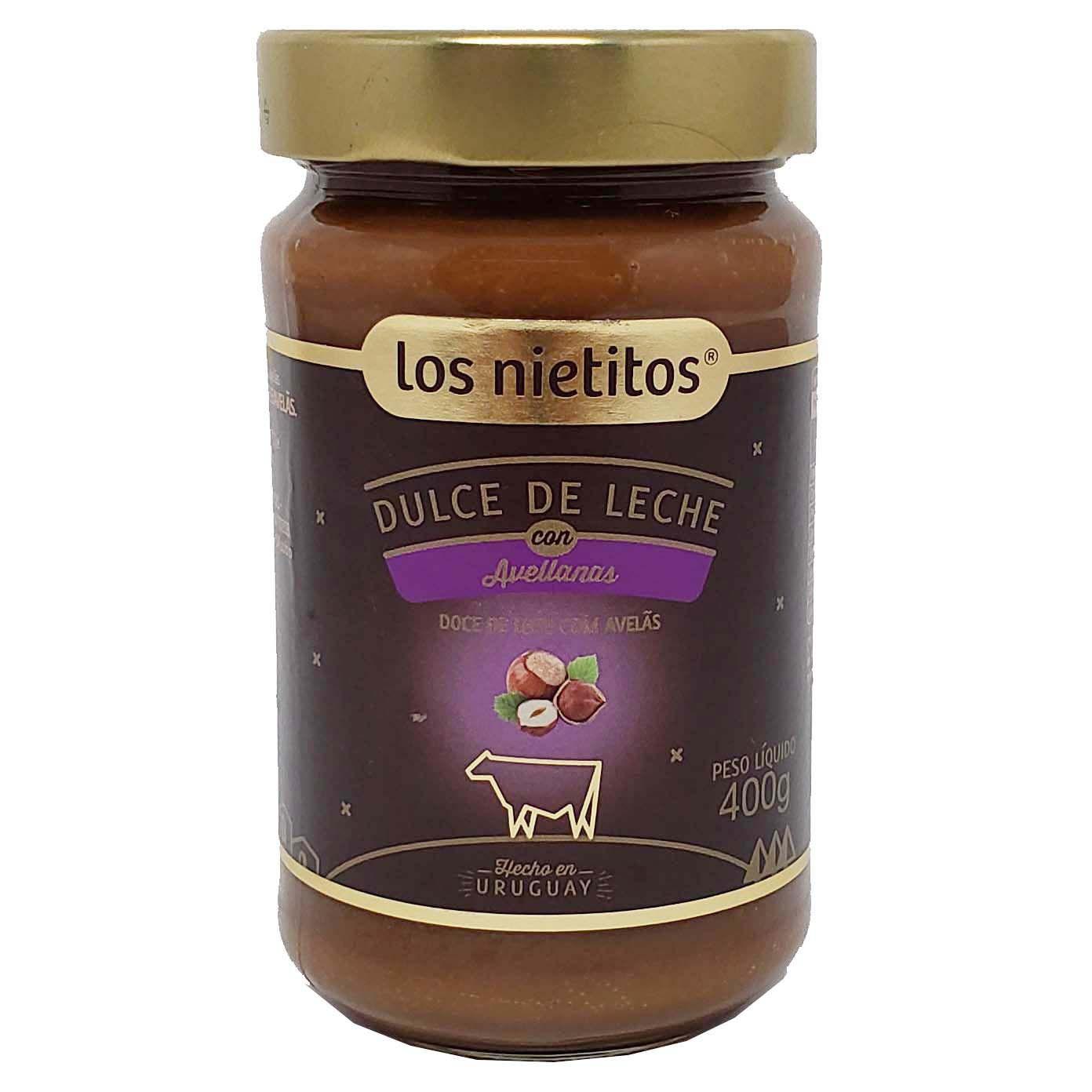 Doce de Leite Com Avelãs Los Nietitos - 400g -