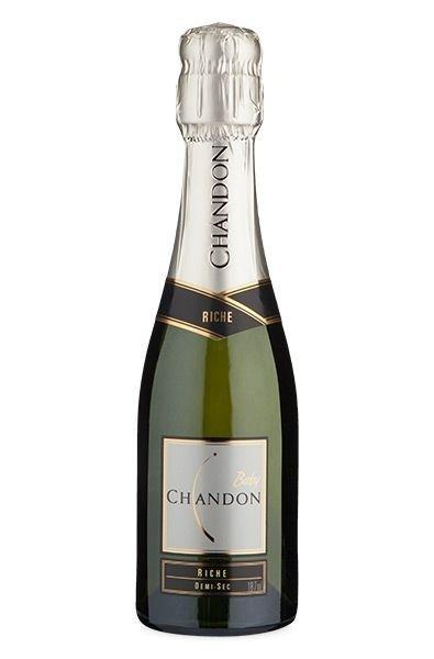 Vinho Espumante Branco Baby Chandon Riche Demi  Sec - 187ml -