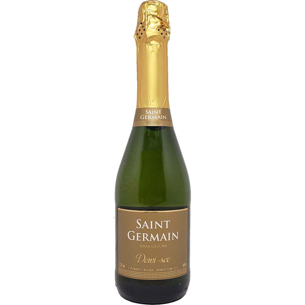 Vinho Espumante Branco Demi Sec Saint Germain - 660ml -