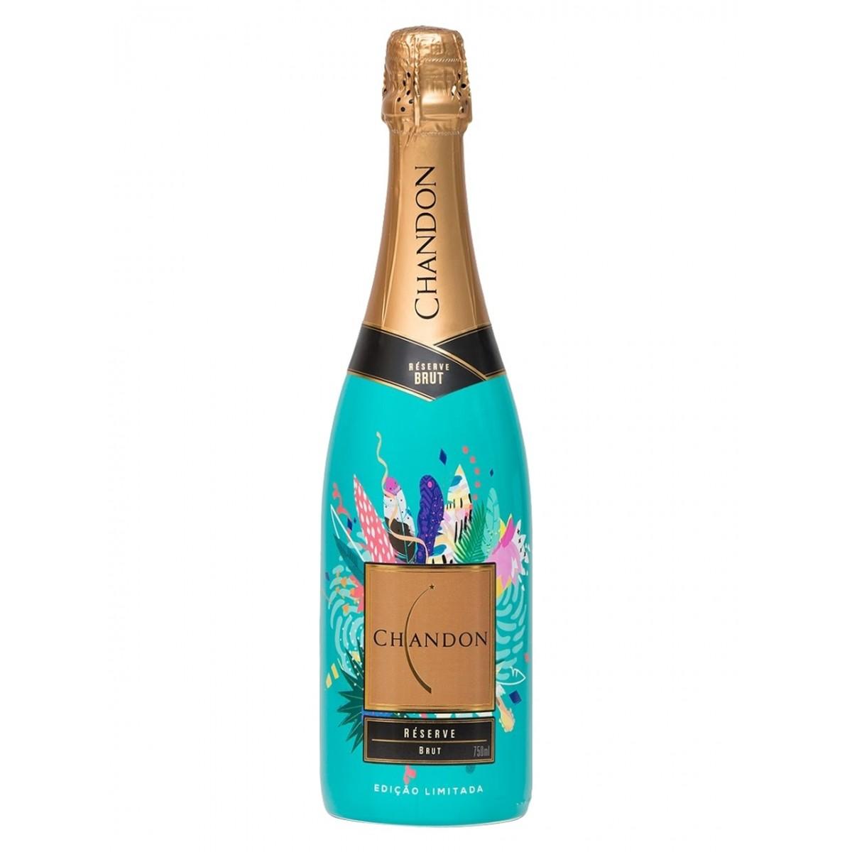 Vinho Espumante Branco Chandon Réserve Brut - Edição Limitada Verão - 750ml -
