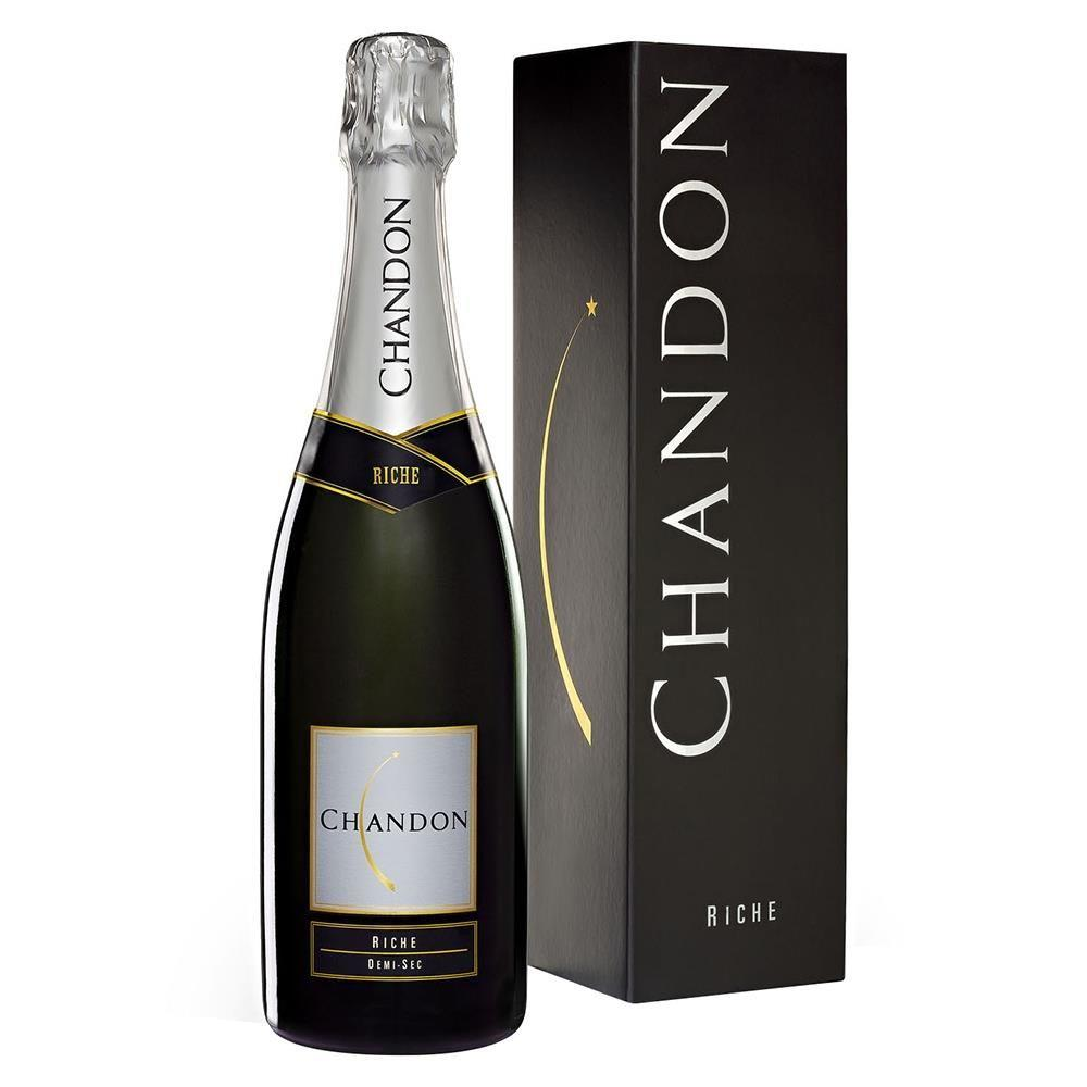 Vinho Espumante Branco Chandon Riche Demi-Sec - 750ml -