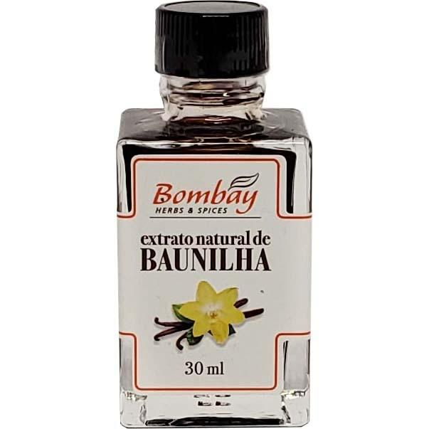 Extrato Natural de Baunilha Bombay - 30ml -