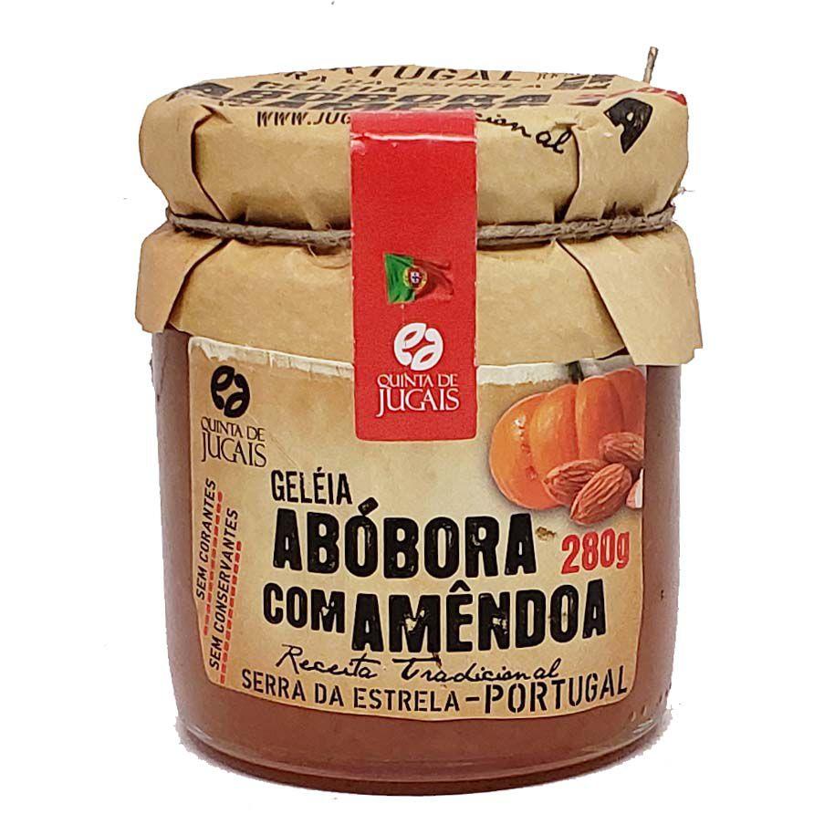Geléia de Abóbora com Amêndoa Quinta de Jugais - 280g -