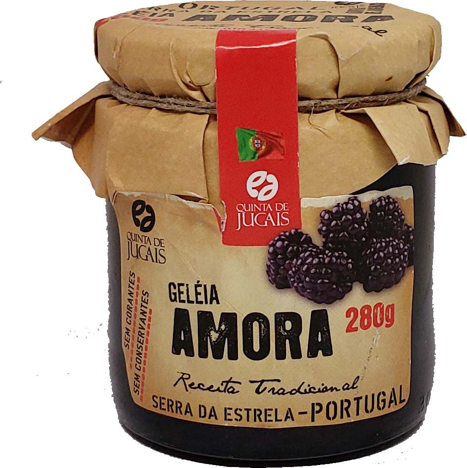 Geléia de Amora Quinta de Jugais - 280g -