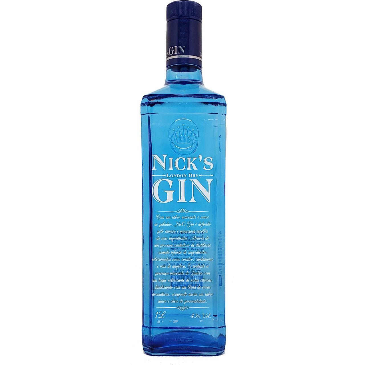 Gin Nick's London Dry - 1L -
