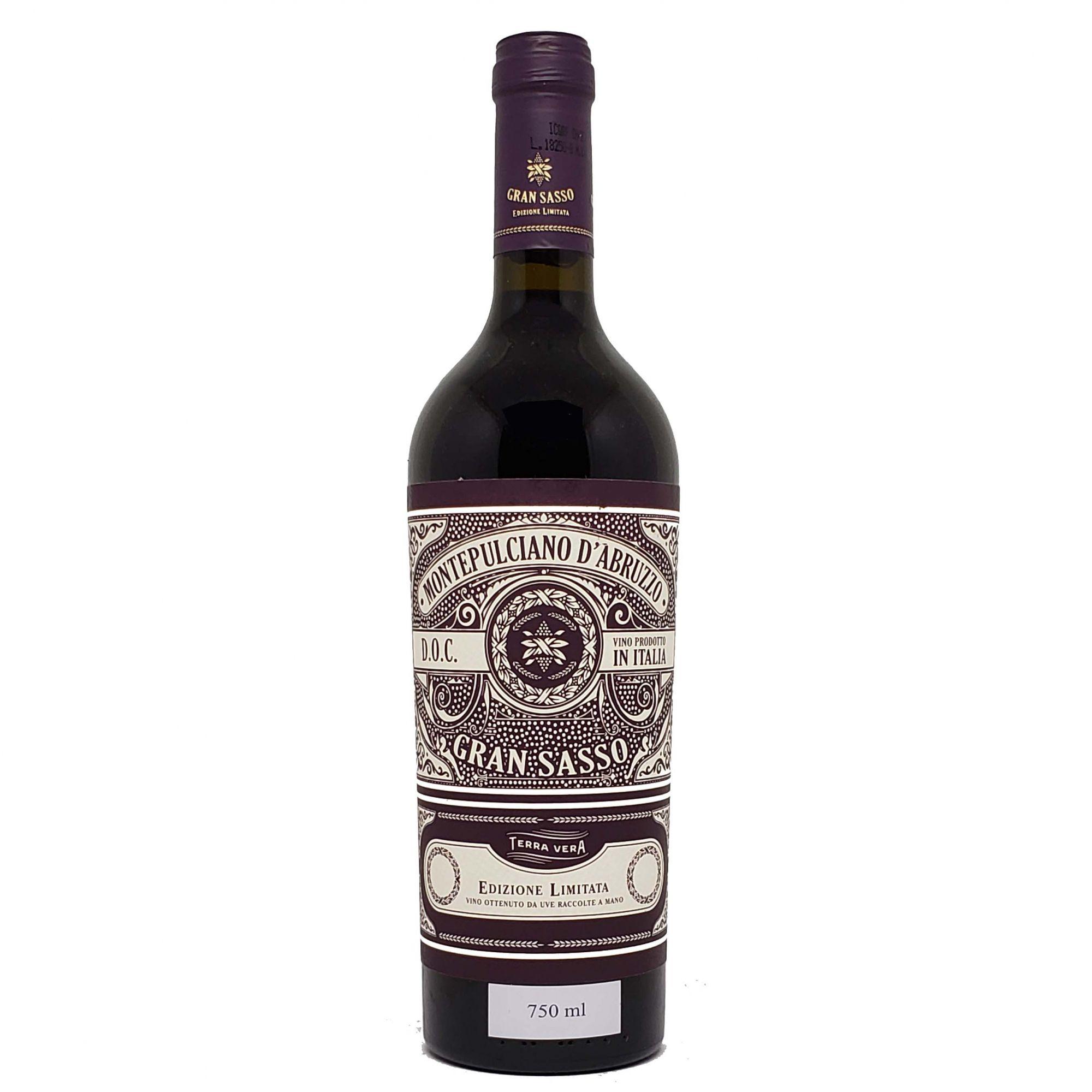 Vinho Tinto Gran Sasso Montepulciano d'Abruzzo  Edizione Limitata - 750ml -