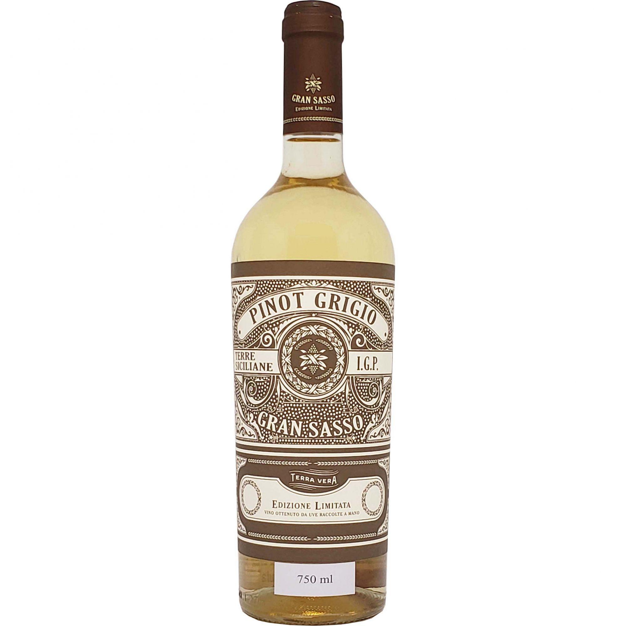 Vinho Branco Gran Sasso Pinot Grigio Edizione Limitata - 750ml -