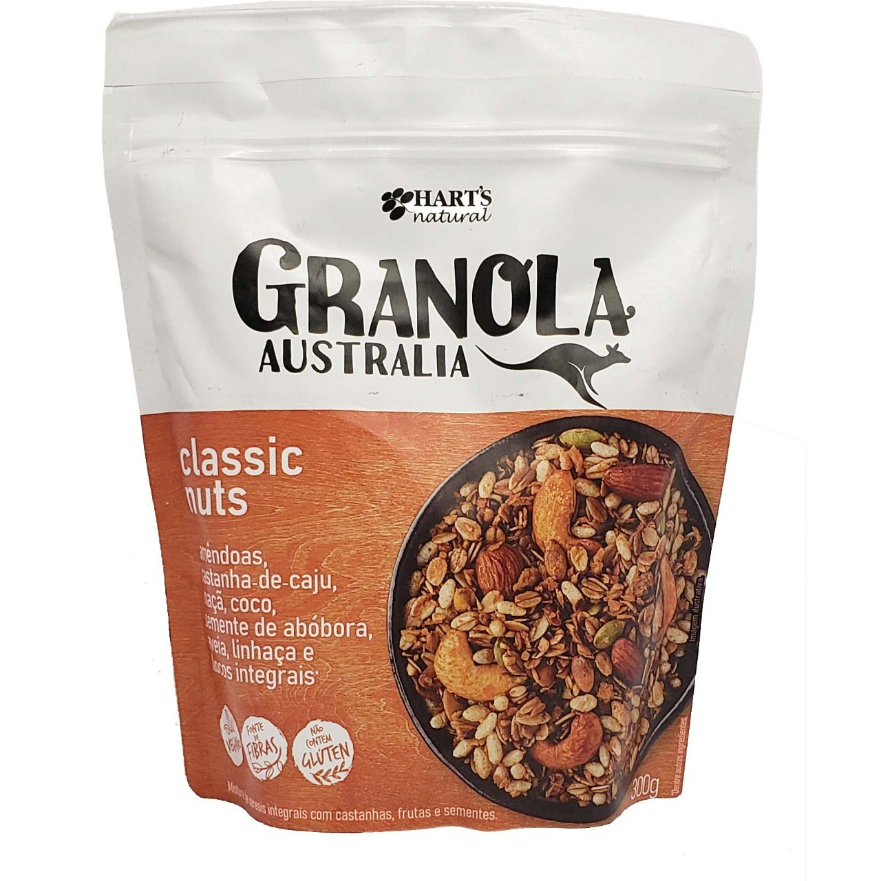 Granola Australia Classic Nuts Hart´s Natural - 300g -